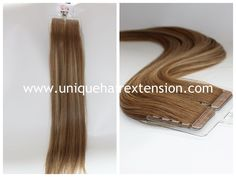 Our factory produce the best quality tape in hair extensions with factory price, the hair very soft, tangle free no shedding, 100% premium quality human hair to produce. Many fashion colors you can choose, also can produce your own color ring. Our factory have many stock tape hair extensions ready to ship, email us order@uniquehairextension.com to get more details. Qingdao Unique Hair Products Co.,Ltd. www.uniquehairextension.com www.instagram.com/qingdaouniquehair Whatsapp: +8613012555505