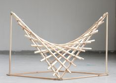 This seating concept explores the way in which curves can be formed from…