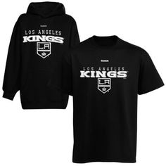 f6125a66627 Reebok Los Angeles Kings Youth T-Shirt and Pullover Sweatshirt Set - Black