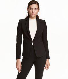 H&M Blazer - Black, Size 6
