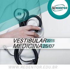 Vestibular 2015-2 para Medicina Faculdade Redentor! #faculdaderedentor #vestibularmedicina #medicinaredentor  Para maiores Informações e Inscrições clique na imagem.