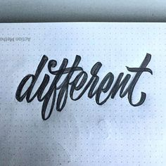 Different by Riley Cran