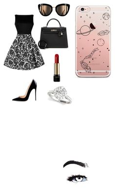 """Untitled #10"" by nathaisia-iam on Polyvore featuring Hermès and Lancôme"