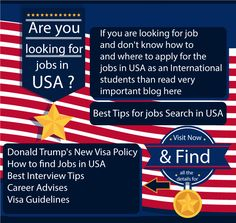 What are some tips to find USA visa information?