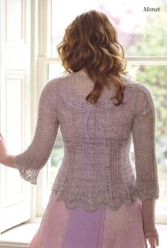 Журнал: The Knitter Ruffle Blouse, Turtle Neck, Pullover, The Originals, Knitting, Sweaters, Cardigans, Lace, Beautiful