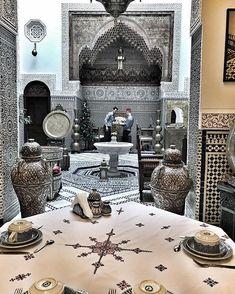 Riad Fes Maya.. Moroccan Art, Moroccan Interiors, Riad Fes, Arabic Decor, History Of Islam, Visit Morocco, Islamic Architecture, Old Building, Corfu
