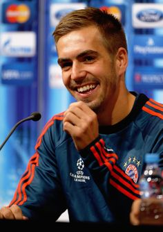 They have Philipp Lahm's casually perfect eyebrow game.
