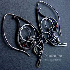 Ulotny czar Biżuteria Kolczyki Alabama