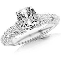 https://ariani-shop.com/102-carat-gia-certified-very-good-cut-cushion-cut-side-stone-diamond-engagement-ring-e-color-vvs2-clarity 1.02 Carat GIA Certified Very Good Cut Cushion Cut Side Stone Diamond Engagement Ring (E Color VVS2 Clarity)