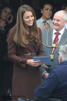 Click the pic for lots of good things about Duchess Kate's Day In Grimsby, Reveals Baby Is Kicking + More