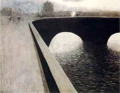 La Poursuite, Léon Spilliaert, 1910