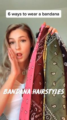 Bandana Hairstyles, Pretty Hairstyles, Easy Hairstyles, Girl Hairstyles, Wedding Hairstyles, Short Hair Styles Easy, Medium Hair Styles, Curly Hair Styles, Workout Hairstyles