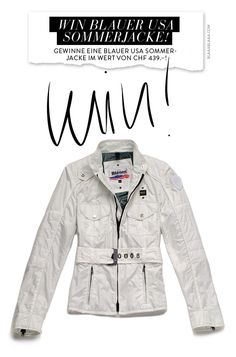 Win Blauer USA Sommerjacket!