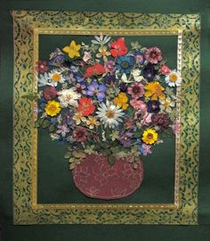 Pressed Flower art. | Pressed