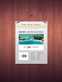 The Big Deal – Free Elegant Coupon Window (PSD)    Source: http://designmodo.com/the-big-deal-coupon-window-psd/#ixzz1rIPaDGp8