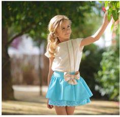 vestidos multicolor de niña en encaje y tafeta - Buscar con Google