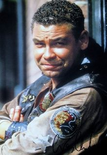 Dave Lister #reddwarf  Gotta love Dave. He is a total and complete slob, has no aspirations, but makes up for that with a big heart, buckets of courage and enough patience to live pretty much all alone with Rimmer for the rest of eternity. LOL