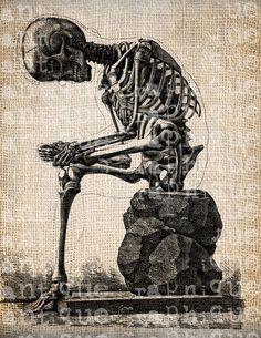 Skeleton Creepy Halloween