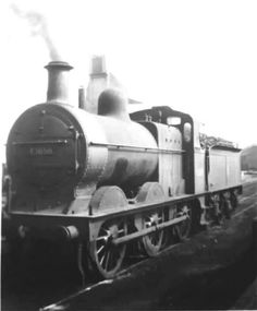 43658 at Normanton Shed in Mid 1950's