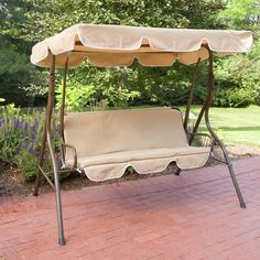 Have to have it. Ginger Cove 2 Person Canopy Swing $119.98