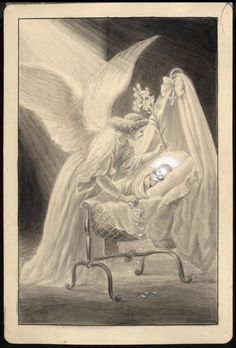Angels of God, my Guardians dear, to whom His Love commits me here, ever this night be at my side! To light, to guard, to rule and to guide. Amen.