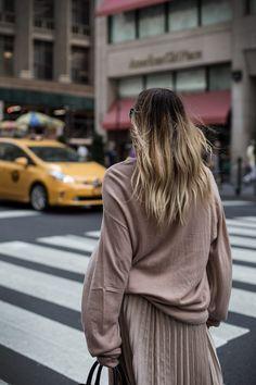Streetstyle Shooting für Otto.de mit black palms und Aylin König in New York zur NYC Fashion Week 2016. Model: www.black-palms.com