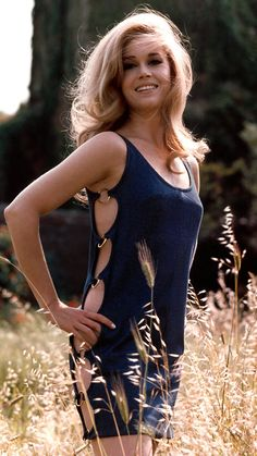 JANE FONDA, 1960S The former fashion model-slash-fitness guru showed off her svelte frame back in the day with revealing cut-outs that ran down the sides of her dress.