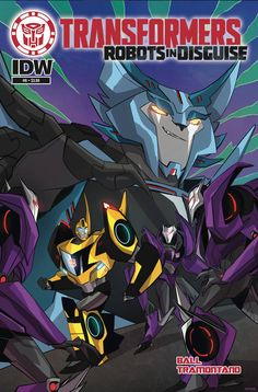 Transformrs Robots In Disguise Animated (2015) Issue #6