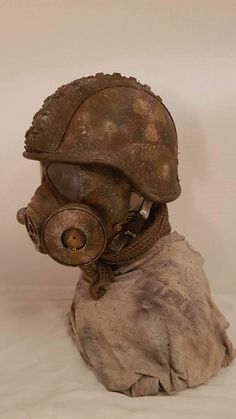 Items similar to Post apocalyptic helmet/gas mask on Etsy Apocalypse World, Post Apocalypse, Wasteland Weekend, Post Apocalyptic Fashion, Cool Masks, Medieval Fantasy, Cyber, Art Reference, Cola Recipe