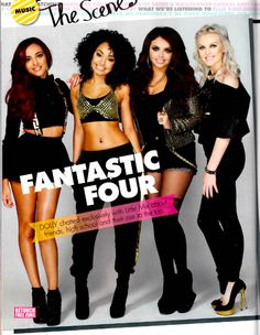 Fantastic four:) Did you guys read the August issue of Teen Vogue? Both Little Mix AND Ed Sheeran are in it!! ^.^