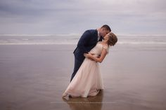 oregon beach elopement, wedding, hug point, shannon hager photography