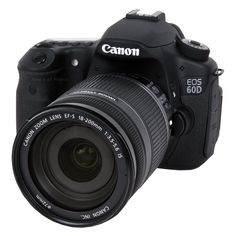 EOS 60D Digital SLR Camera with 18-200mm f/3.5-5.6 IS Standard Zoom Lens