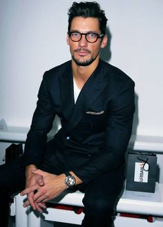David Gandy. See Gentlemen suits don't have to be so formal.