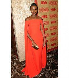 Lupita Nyong'o's Best Looks During Award Season via @WhoWhatWear
