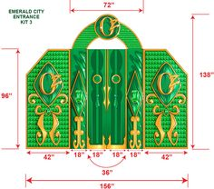 the emerald city of oz | View detailed images (3)