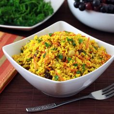 This healthy couscous salad is packed full of healthy ingredients and has a fantastic flavor. Serve for lunch or enjoy as a side dish.