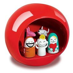Alessi - Christmas Presepe Nativity Set  My Mama LOVES this!