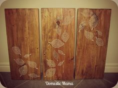 Tales of a Domestic Mama: DIY Wood Art