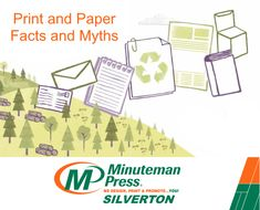 The Myth Paper is bad for the environment The Fact Paper is one of the few truly sustainable products Paper Industry, Sustainable Products, January 2016, Forests, Environment, Printing, Facts, Future, Natural
