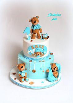 Pirate  Mermaid By Shereen Cakes  Cake Decorating  Daily - Bear birthday cake