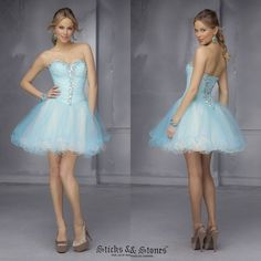 2014 Hot Selling Sweetheart Organza Homecoming Dresses With Pleats Bodice Ball Gown Cascading Ruffle Girls Skirt Women Clothing  $99.99