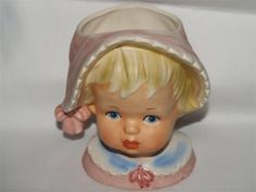 Relpo 2013 Vintage Baby Headvase