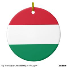 Flag of Hungary Ornament