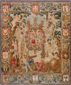 51d3bba724 Wednesday Wish List  This magnificent tapestry was commissioned by a 17th  century Spanish Nobel.
