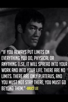 Bruce lee wisdom is always on point