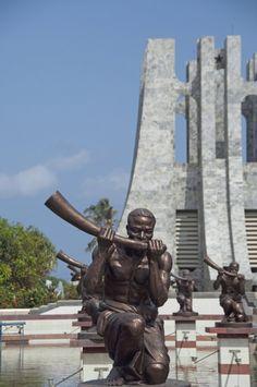 Nkrumah Mausoleum in Kwame Nkrumah Park, Accra, Ghana Ghana Travel, First Instagram Post, 17th Century Art, Memorial Park, Accra, Luxor Egypt, Future City, British Library, Pompeii