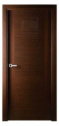 Versai Vetro Interior Door in Italian Wenge Finish