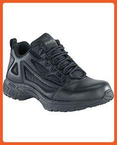4c6e44d8d52 Reebok Women s Athletic Oxford Soft Toe Shoes Black 12 D(M) US - Boots