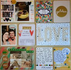 Mrs. Crafty Adams: Project Life Weeks 11 and 12 - Studio Calico