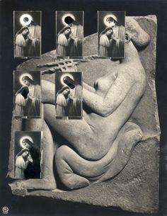 """33005936  BROWN, Jonathan (EEUU, 1967).  """"Roma"""".  Collage y tinta sobre papel.  Se puede expedir certificado de autenticidad a petición del comprador.  Medidas: 25 x 19,5 cm."""
